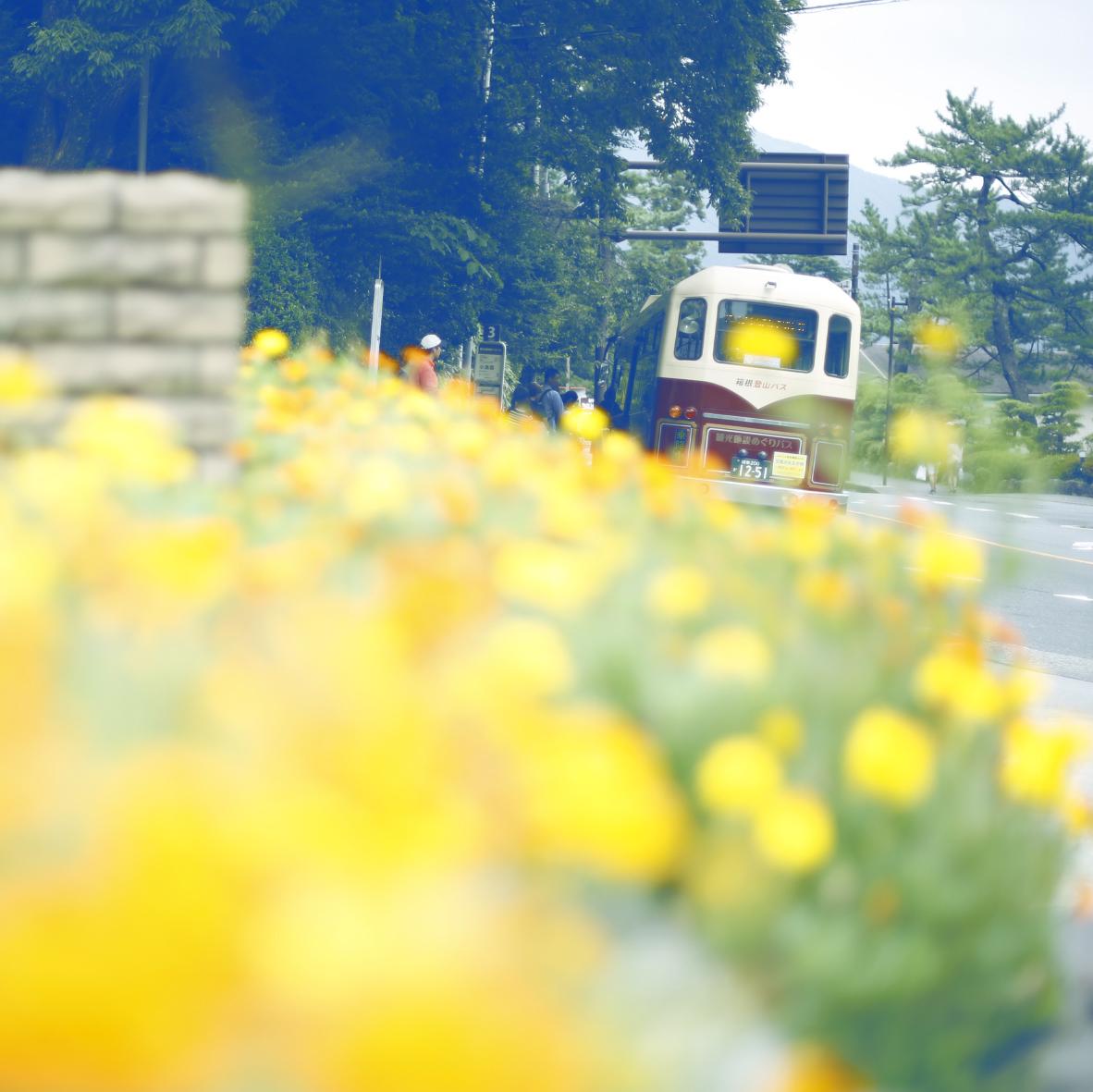 観光施設めぐりバスが「天悠」発着になります。