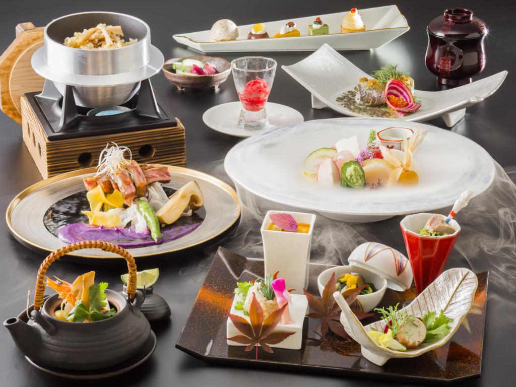 箱根小涌園 天悠 秋の夕食イメージ画像