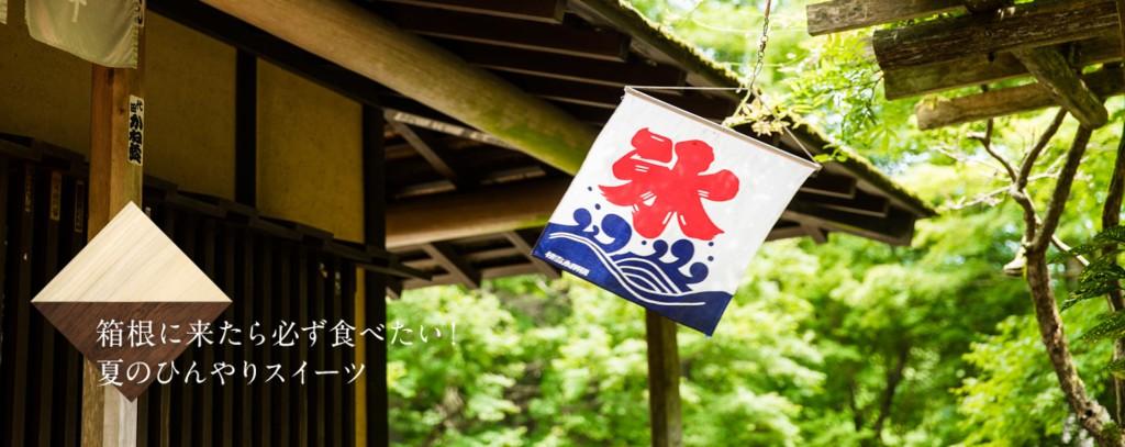 箱根に来たら食べたい!夏のひんやりスイーツ