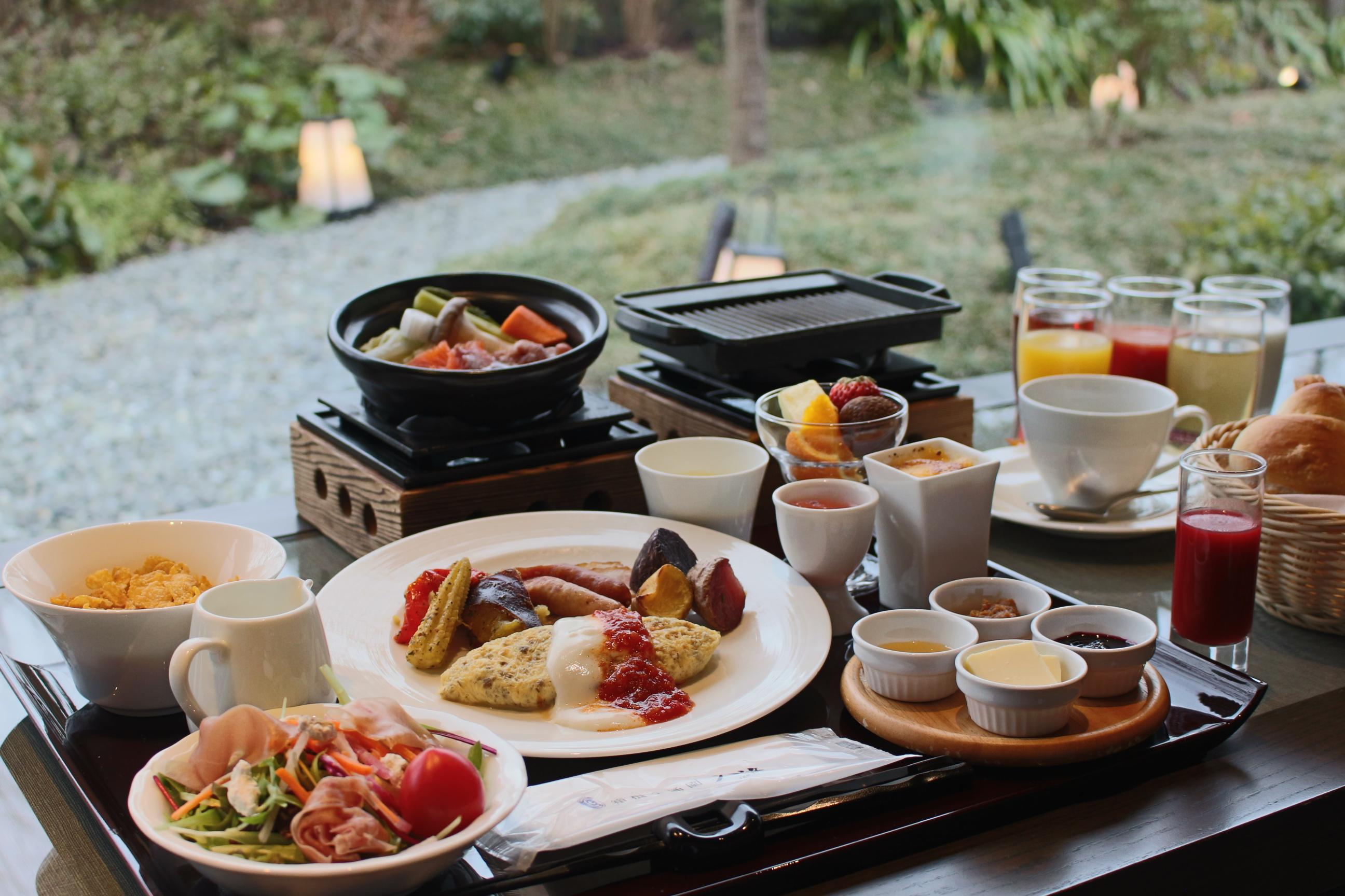 朝食営業形態変更についてのお知らせ
