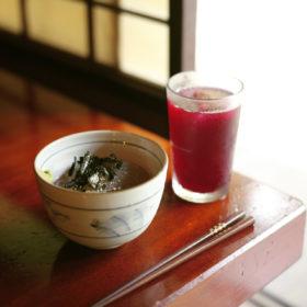#No.29 #甘酒茶屋 #ところ天 #しそジュース