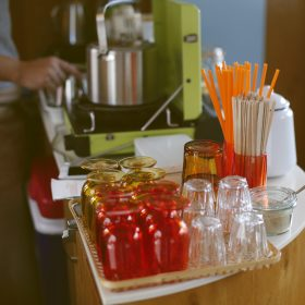 #No.69 #CAFERyusenkei #赤とオレンジ #コーヒー #いい香り