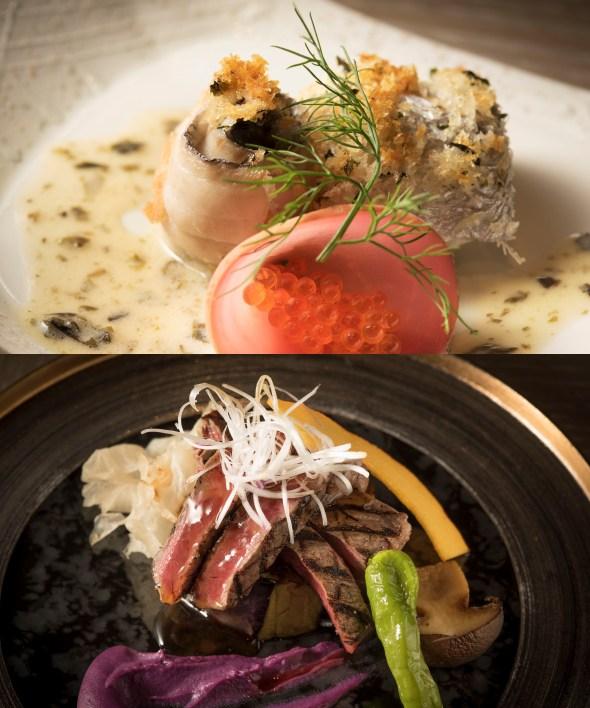 和洋のいいところがぎゅっと詰まった魚料理・肉料理