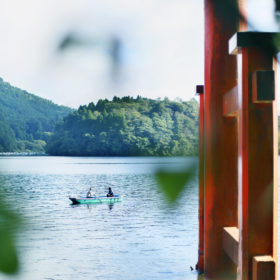 #No.37 #鳥居 #ボート #箱根神社 #芦ノ湖