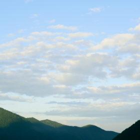 #No.39 #山の稜線 #雲の色
