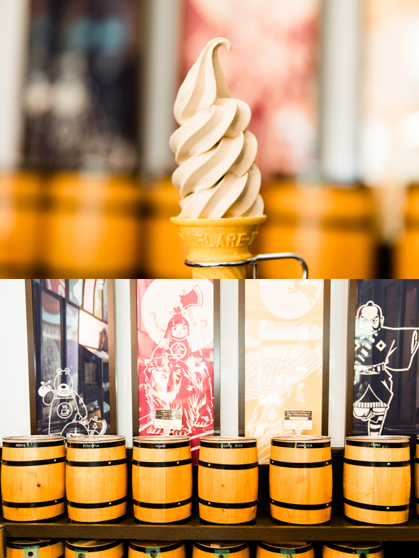 箱根湯本の名物!<br /> 風味豊かなソフトクリーム