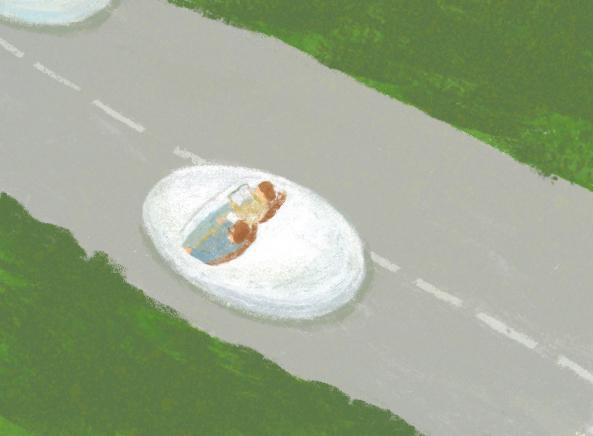 挿入イラスト)詩人・菅原敏の箱根を舞台にした書き下ろし小説「湯船に乗って」前編|My Hakone Time by 天悠